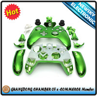 Chrome Full Shell Case Housing for Xbox One Console Wireless Controller