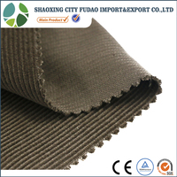 Fudao 100% cotton 11 wales plain dyed heavy corduroy fabric