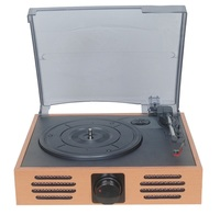Wholesale recordable retro usb sd turntable music vinyl record player