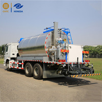 China Road Construction 6 cbm asphalt distributor truck