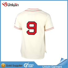 plain custom baseball buttons shirt baseball jersey wholesale softball jersey
