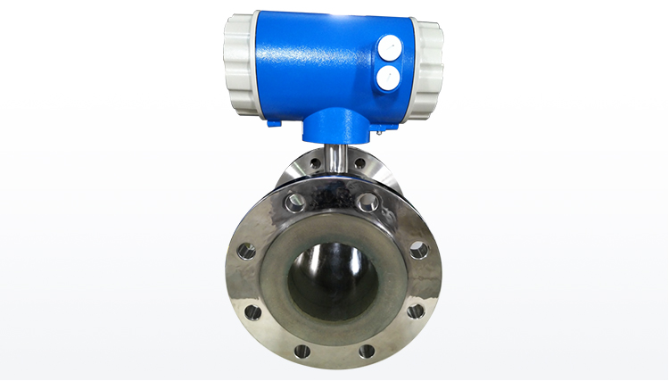 High-frequency serous type grout cement electromagnetic flow meter