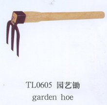 Agricultural Hoe, Garden Hoe garden tool with wooden handle