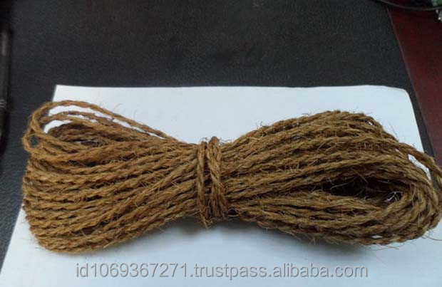 Curled Coconut rope / coir twine for Hop farming