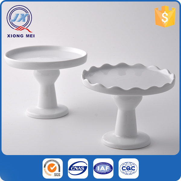 Novelty round shaped cake stand wedding for decoration