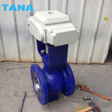 Pneumatic and electric CF8M flanged V type Segment Ball Valve DN250