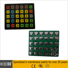 custom designed pcb membrane keyboards