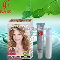 SAISI permanent dye to white cream