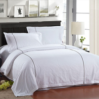 Factory Price Solid Color Bedding Set Made In India