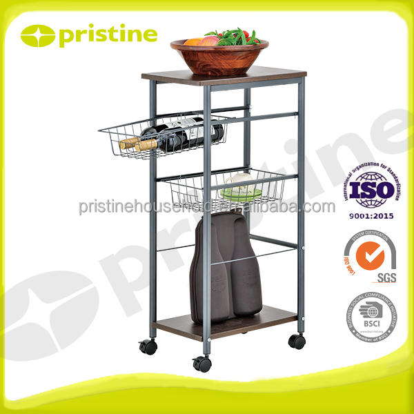 Manufacturer Quality furniture Kitchen Trolley Service Cart
