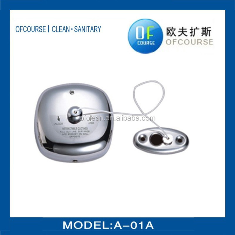 Stainless steel Retractable clotheslines for Hotel