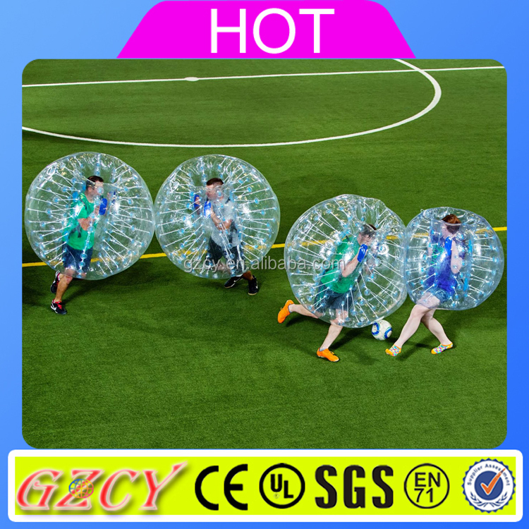 Inflatable Body Bubble Zorb Football for Soccer Game