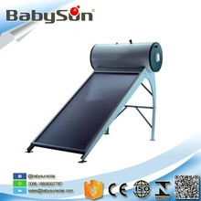 200L solar collectors flat panel solar water heater for sale