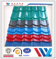 zinc aluminum greenhouse red asphalt roof shingles made in China