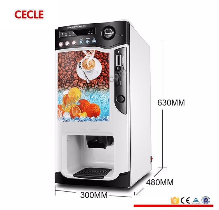 Cecle the cheap coffee/tea vending machine for india market