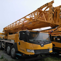 Heavy equipment QY100K-I XCMG 100ton mobile truck crane for sale