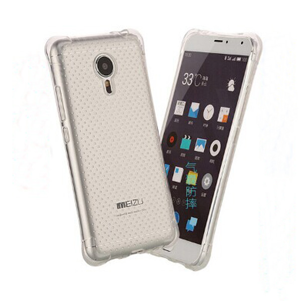 C&T Ultra Slim Shockproof Clear Flexible Soft TPU Case For Meizu M3 Note