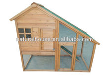 Water proof Apex roof Wooden Rabbit Hutch