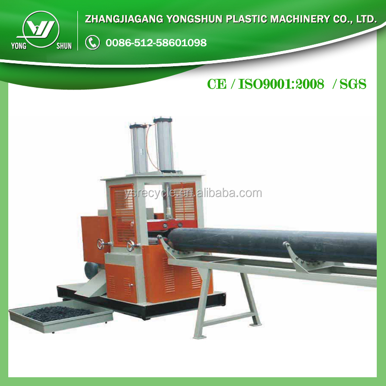 New style Plastic pipe shredder unit with good quality