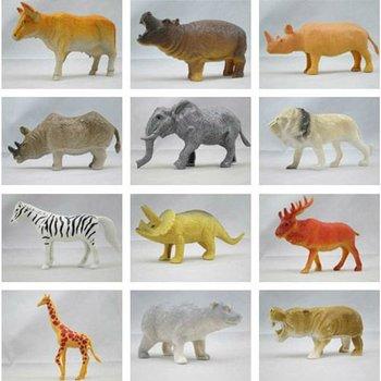 pas cher en plastique zoo animaux miniature en plastique. Black Bedroom Furniture Sets. Home Design Ideas