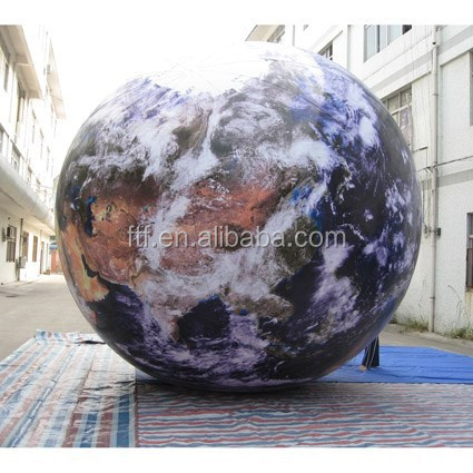 new fashioned floating inflatable helium globe balloon,large balloon for advertising
