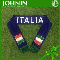 2016 new promotional gifts forpolyester long European cup scarves