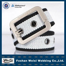 Changeable Pin Buckle Woven Knitted Belt