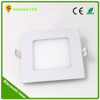 sunland high power square Embedded led panel light recessed led panel light fixture
