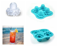 RENJIA custom shape silicone ice stick,custom ice lolly mould,custom ring tray