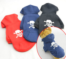 Pet supply small dog clothing Winter clothes Sweatshirt