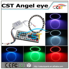 2016 New Design DC12V-24V 5050 smd angle eyes ,RGB Angel Eyes Ring, auto angle eye led ring for universal cars