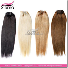 new offers 7A grade sales promotion custom design clip hair extensions dubai