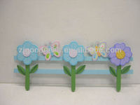 HOT SALE GARDEN DECORATIVE GARDEN FLOWER FENCING WOODEN STAKE
