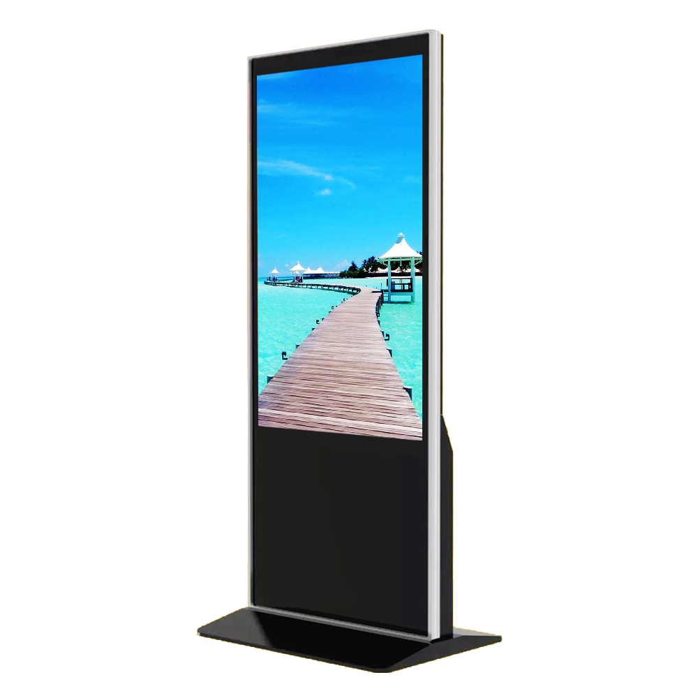 "55"" Wifi Interactive Touch Screen Digital Signage Kiosk"