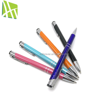New design high quality 0.5mm 0.7mm 1mm aluminum ball-point pen