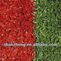 Running Track Material With Red Artificial Grass For Decorative/Tennis