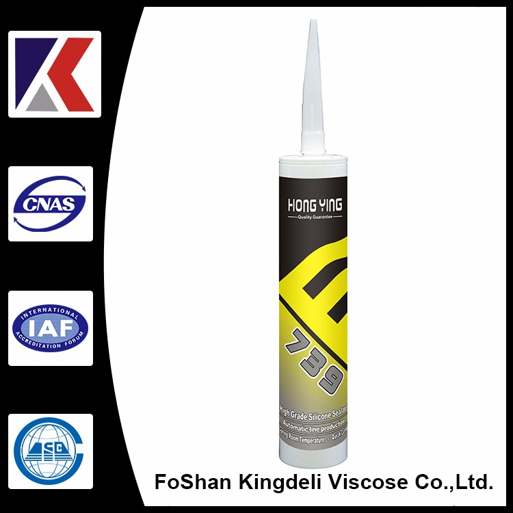 Advanced acid transparent silicone adhesive for glass
