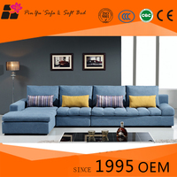 U shaped sofa of modern design upholstered quality fabric banquette sofa