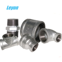 high quality pipe fittings and joints gi fittings malleable iron cross