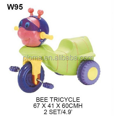 Baby toy plastic tricycle