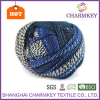 2015 New fashion how to knit socks easy Good quality for sweater bead yarn
