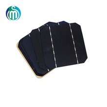 Monocrystalline Solar Cell 156 * 156mm For DIY Photovoltaic Mono Solar Panel