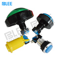 Arcade machine parts factory direct wholesale waterproof 12 volt illuminated led push button switch