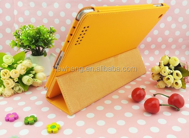 Hot Sale! wallet stand case for i pad2