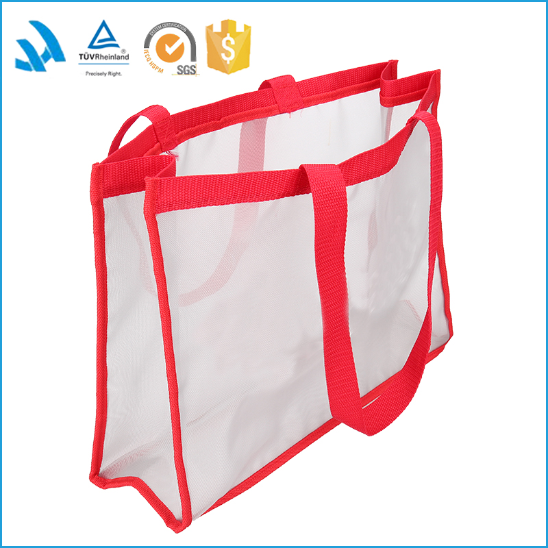 Bopp laminated eco friendly women shopping handle cloth packaging non woven bag
