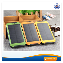 AWC607 8000mah charge for tablet laptop solar mobile power bank