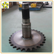 Manufacturers long term production of Grader machine parts sprocket and shaft components 85513031 (after)