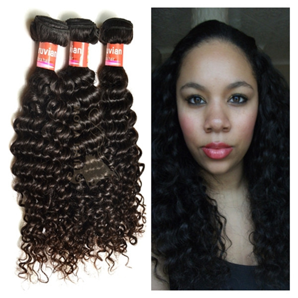 Large stock wholesale virgin peruvian 100 human remy hair weave