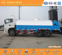 Dongfeng high pressure sewer flushing truck 6x4 16000L