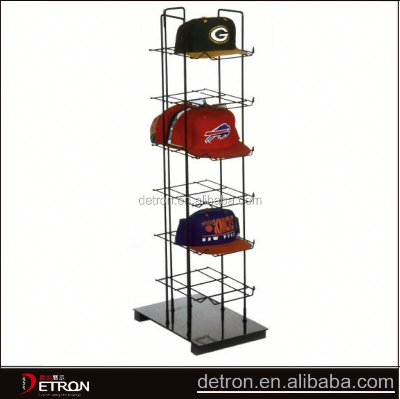 Metal wire customized fitted hat rack
